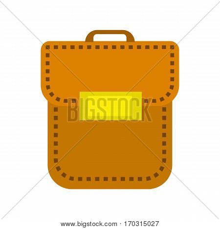Leather handbag, portfolio, briefcase business style for ladies and gentlemen. Trendy accessory.