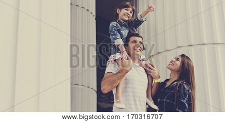 Family Holiday Vacation Gothic Architecture Arts Togetherness
