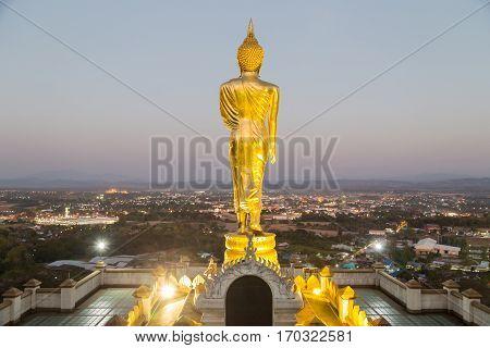 Sunset At Wat Phra That Kao Noi