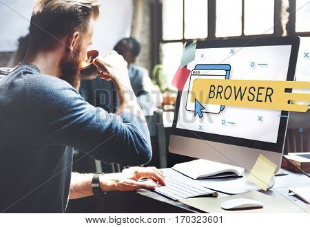 Browser Internet Network Technology Graphics