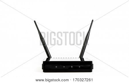 Wireless Router on White background