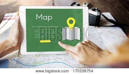 Journey Location Route Directions Navigation