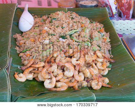 Shrimp fried rice Fried rice with Shrimp