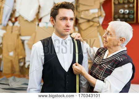 Visiting dressmaker