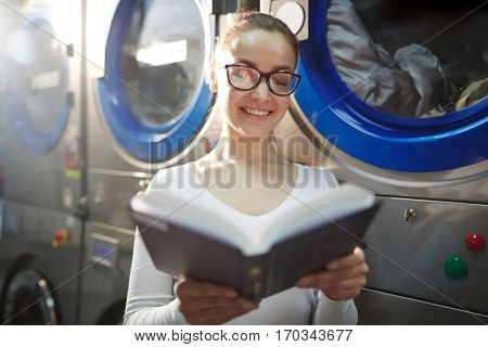 Reading by washing machine
