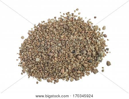 Heap Or Pile Of Coarse Sand