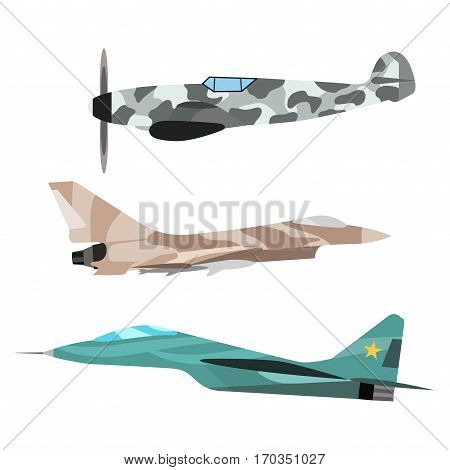 Vector airplane illustration. Plane passenger white trip and aircraft transportation. Travel way to vacation sky design journey international object.