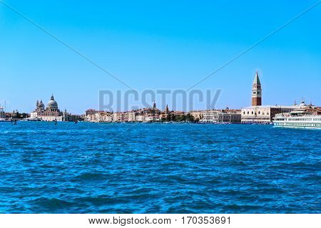 the isle Giudecca of Venice in Italy