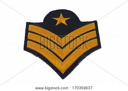 Sergeant are commissioned officers is military rank.