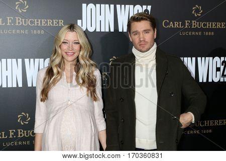 LOS ANGELES - JAN 30:  Chad Michael Murray, Sarah Roemer at the