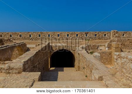 The Complex Of Magazines In Fortezza Of Rethymno.