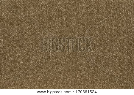 abstract speckled texture and background of textile material or fabric of dark khaki color