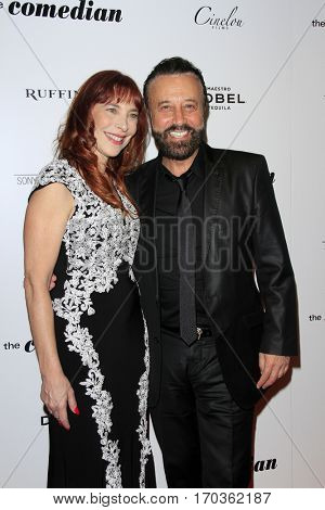 LOS ANGELES - JAN 27:  Nicole Brandon, Yakov Smirnoff at the