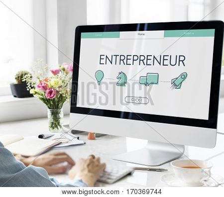Business Goals Entrepreneur Success Rookie