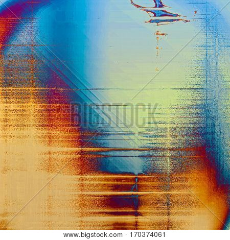 Designed grunge texture or retro background. With different color patterns: yellow (beige); purple (violet); cyan; blue; red (orange)