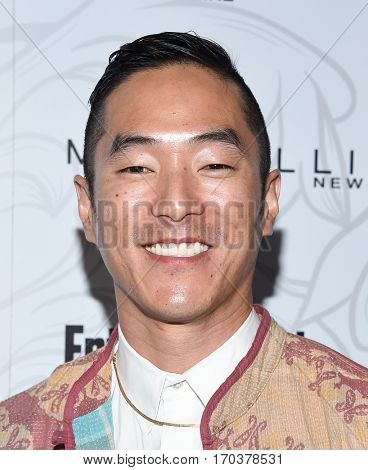 LOS ANGELES - JAN 28:  Leonardo Nam {Object} arrives to the Entertainment Weekly Pre Sag Awards Celebration on January 28, 2017 in Hollywood, CA