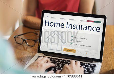 Home insurance is a financial guarantee.
