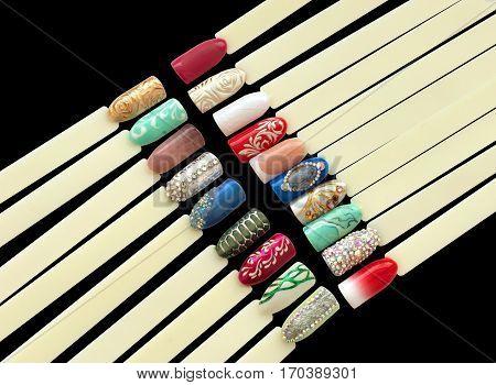 Nail Art Handmade Samples