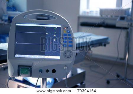 Cardiac monitor in modern clinic