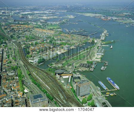 Amsterdam Aerial View