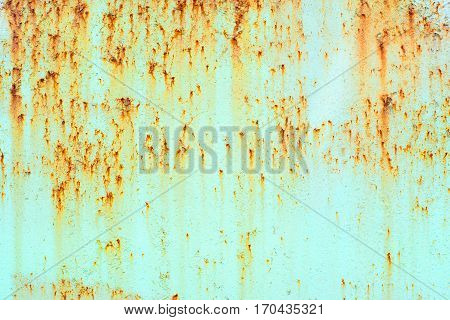 A Rust Texture and Rusted Metal Background.