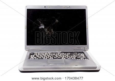 Old Destroyed Notebook