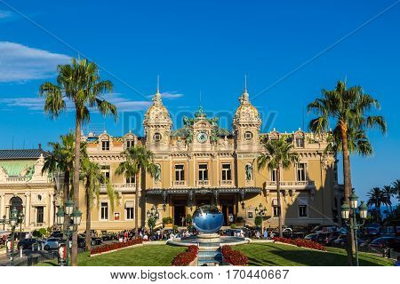 The Grand Casino In Monaco
