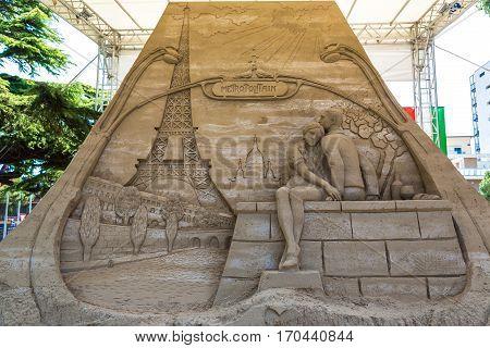 Sand Sculptures In Lido Di Jesolo