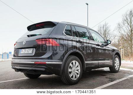 Volkswagen Tiguan, 4X4 European R-line