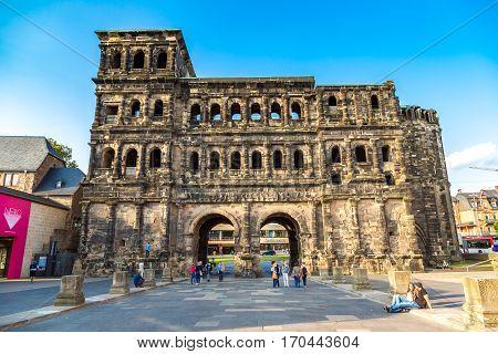 The Porta Nigra (black Gate) In Trier