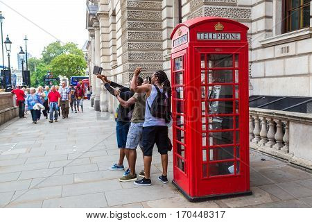 Red Telephone Box (booths) In London