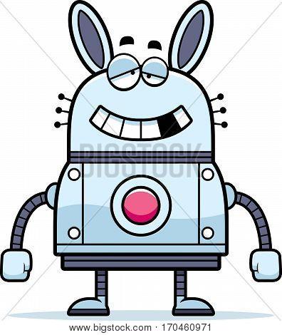 Malfunctioning Robot Rabbit