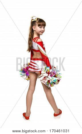 Young Cheerleading Girl