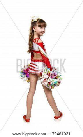 Young Cheerleading Girl