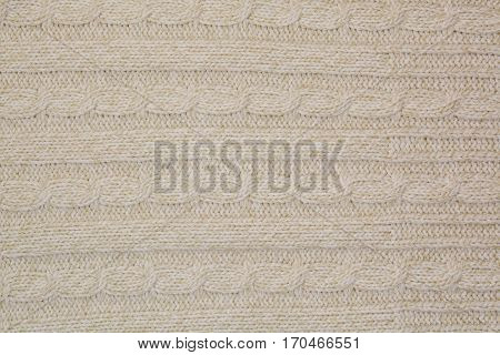 Texture Of Wool Close Up.