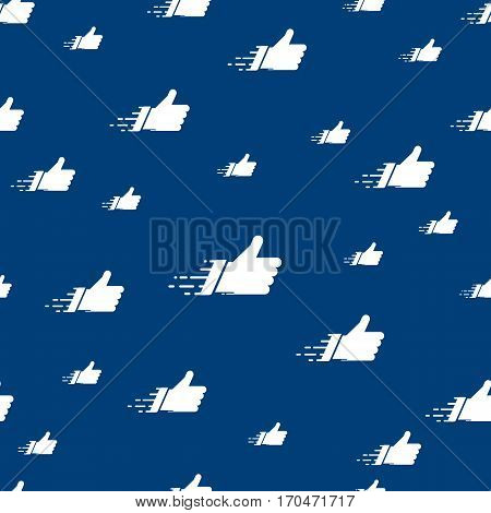 Networks concept for social media banners. Vector composition with white like cloud