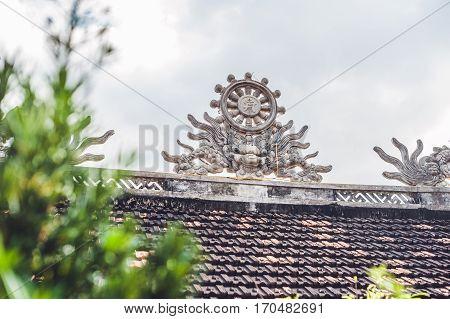 Buddhist Temple In Vietnam Nha Trang