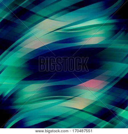 Abstract Technology Background Vector Wallpaper. Stock Vectors Illustration. Black, Green Colors