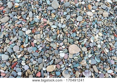 Rocky beach background high quality and high resolution shoot