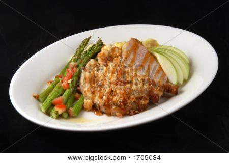 Chicken Dinner With Asparagus