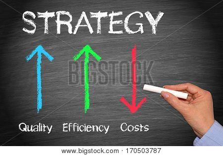 Business Strategy - Quality, Efficiency and Costs