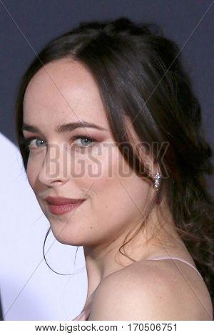 LOS ANGELES - FEB 2:  Dakota Johnson at the