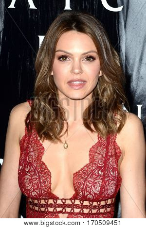 LOS ANGELES - FEB 2:  Aimee Teegarden at the