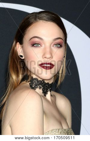 LOS ANGELES - FEB 2:  Violett Beane at the