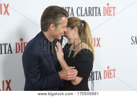 LOS ANGELES - FEB 1:  Drew Barrymore, Timothy Olyphant at the
