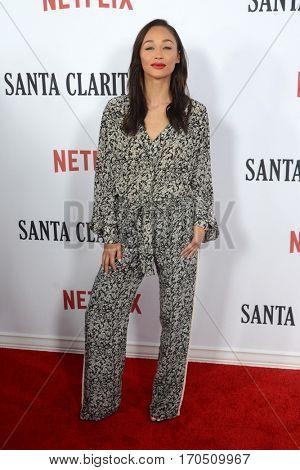 LOS ANGELES - FEB 1:  Cara Santana at the