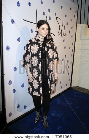 LOS ANGELES - JAN 31:  Michelle Trachtenberg at the Tyler Ellis 5th Anniversary Party and Tyler Ellis x Petra Flannery Collection Launch at Chateau Marmont on January 31, 2017 in West Hollywood, CA