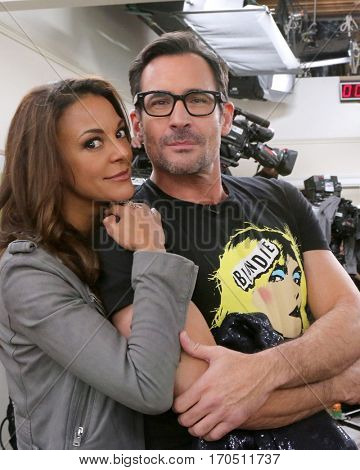 LOS ANGELES - JAN 5:  Eva LaRue, Lawrence Zarian at the