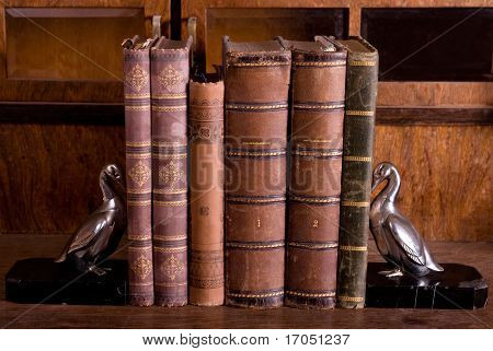 Old Books With Supports