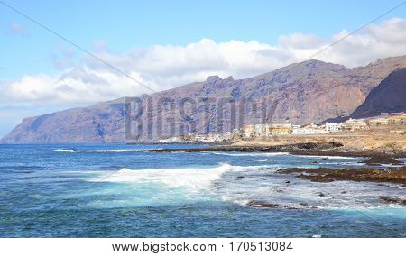 Los Gigantes mountains on Tenerife Island, Canaries